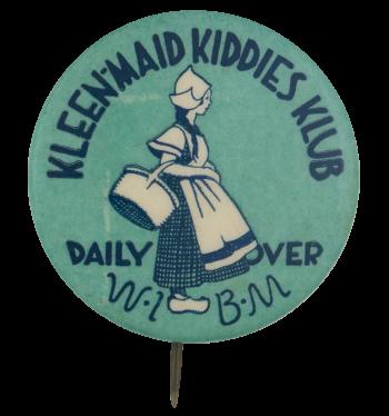 Kleenmaid Kiddies Klub Club Button Museum