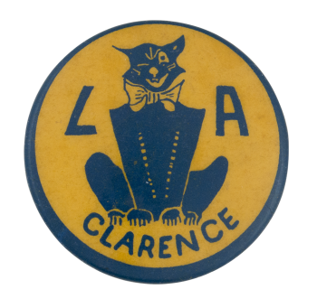 L A Clarence Club Button Museum