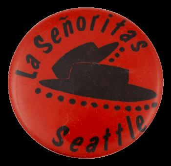 La Señoritas Drill Teams Club Button Museum