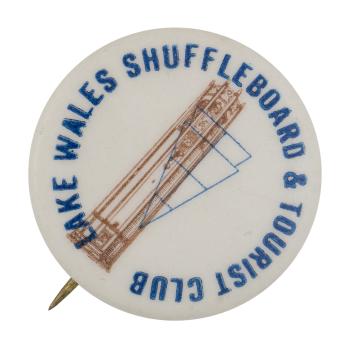 Lake Wales Shuffleboard & Tourist Club Club Button Museum