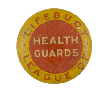 LifeBuoy Soap League of Health Guards Club Button Museum