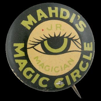 Mahdis Magic Circle Club Button Museum