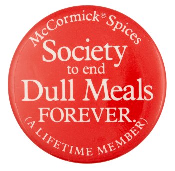 McCormick Spices Society Club Button Museum