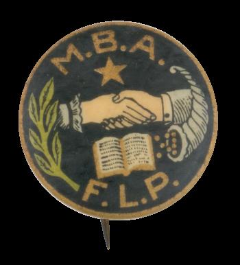 Modern Brotherhood of America Club Button Museum