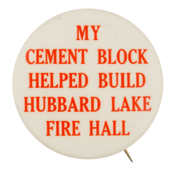 My Cement Block Club Button Museum