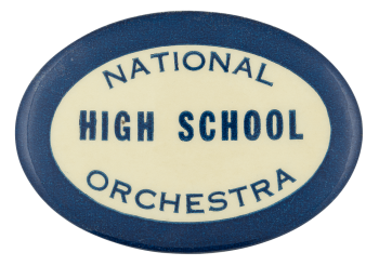 National High School Orchestra Club Button Museum