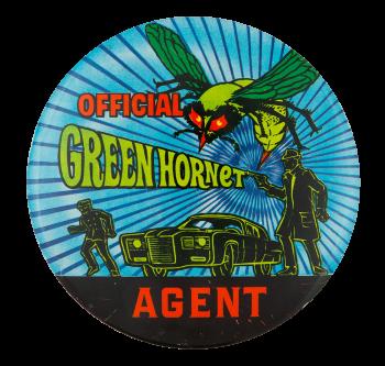 Official Green Hornet Club Button Museum