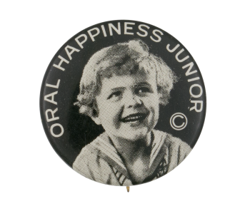 Oral Happiness Junior Club Busy Beaver Button Museum