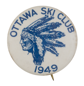 Ottawa Ski Club Club Button Museum
