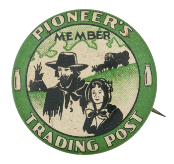 Pioneer's Trading Post Club Button Museum