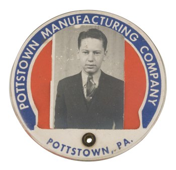 Pottstown Manufacturing Company Club Button Museum