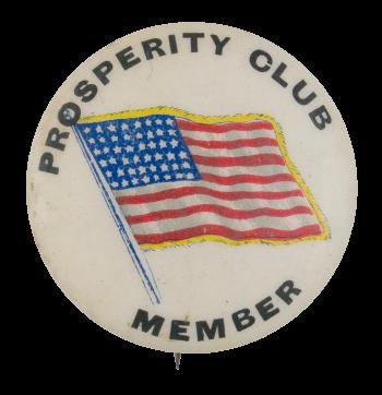 Prosperity Club Club Button Museum