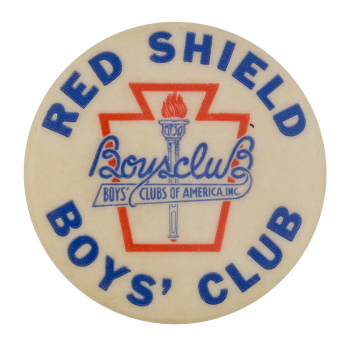 Red Shield Boys' Club Club Button Museum