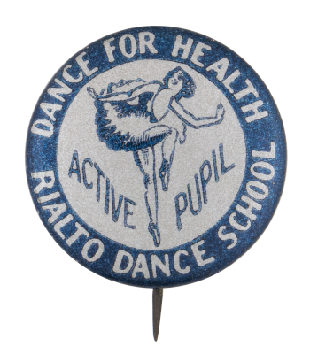 Rialto Dance School Club Button Museum