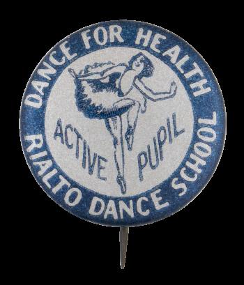 Rialto Dance School Club Button Museum