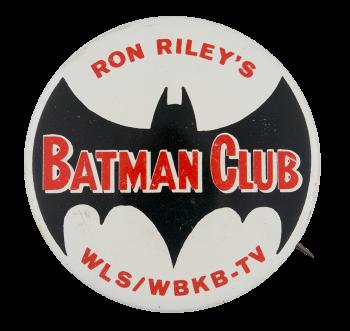Ron Riley's Batman Club Club Button Museum