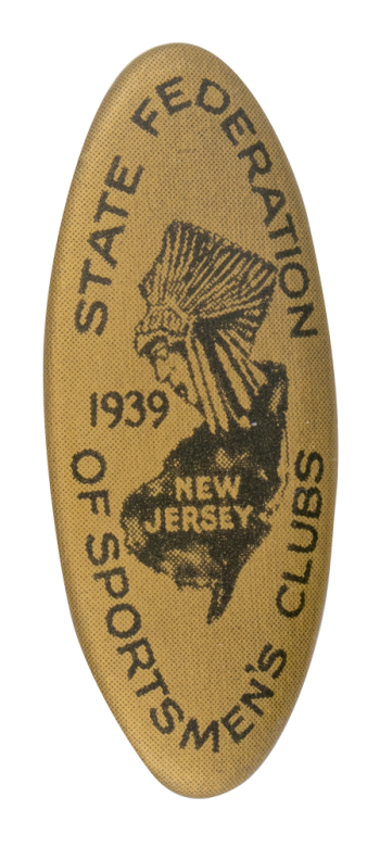 State Federation Of Sportsmen's Clubs Club Button Museum