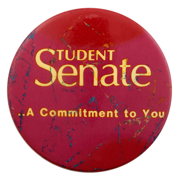Student Senate Commitment Club Busy Beaver Button Museum