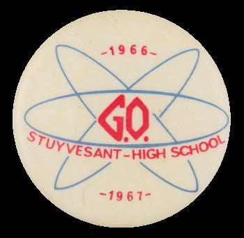 Stuyvesant High School G.O. 1966 Club Button Museum