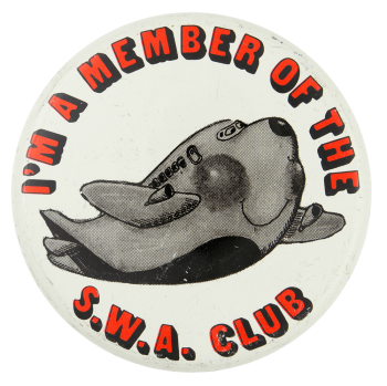S.W.A. Club Club Button Museum