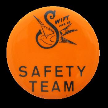 Swift Safety Team Club Button Museum