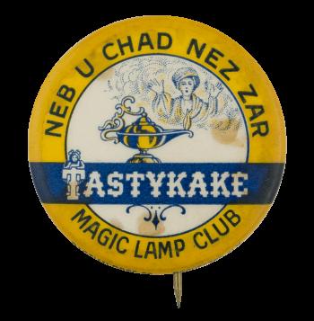 Tastykake Magic Lamp Club Button Museum