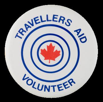 Travelers Aid Volunteer Club Button Museum