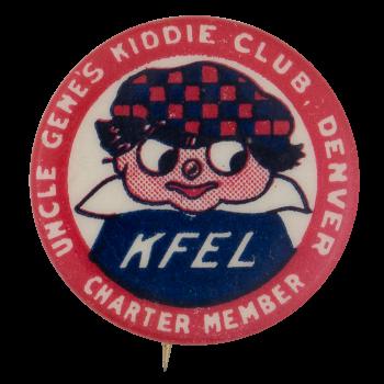 Uncle Genes Kiddie Club Club Button Museum
