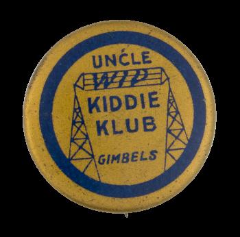 Gimbels Uncle Wip Kiddie Klub Club Button Museum