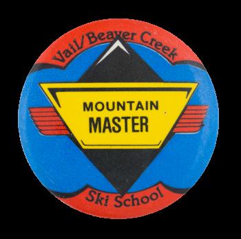 Vail Beaver Creek Ski School Club Button Museum