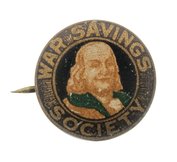War Savings Society Club Button Museum
