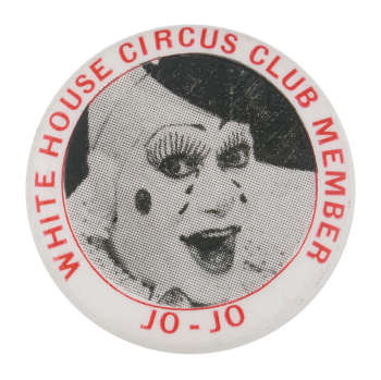 White House Circus Club Club Button Museum