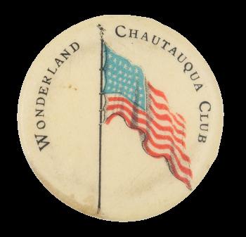 Wonderland Chautauqua Club Club Button Museum
