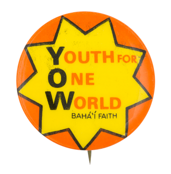 Youth for One World Club Button Museum