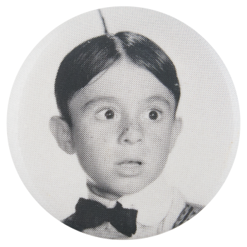 Alfalfa The Little Rascals Entertainment Button Museum