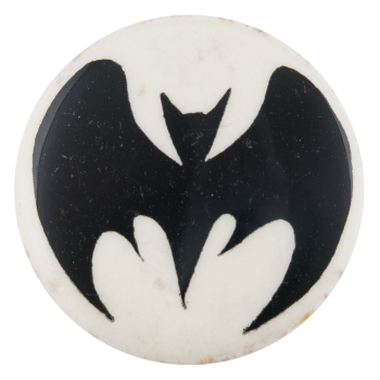 Batman Bat Symbol Entertainment Button Museum