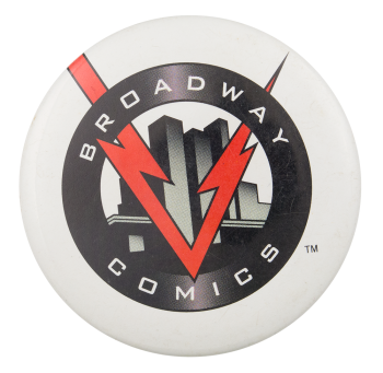 Broadway Comics Entertainment Button Museum