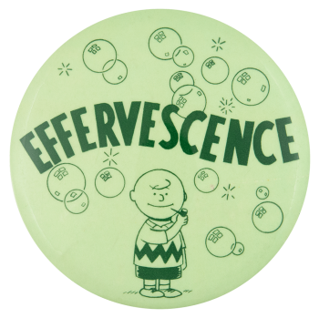 Charlie Brown Effervescence Entertainment Busy Beaver Button Museum