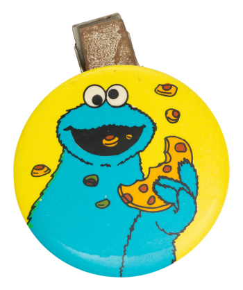 Cookie Monster Entertainment Button Museum