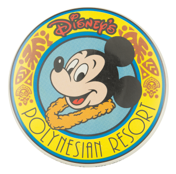 Disney's Polynesian Resort Entertainment Button Museum