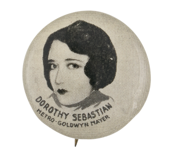 Dorothy Sebastian Entertainment Button Museum