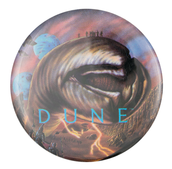 Dune Sandworms of Arrakis Entertainment Button Museum