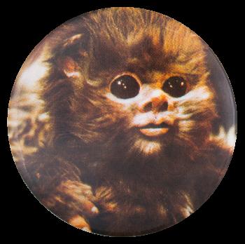Ewok Star Wars Entertainment Button Museum