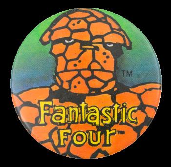 Fantastic Four Entertainment Button Museum