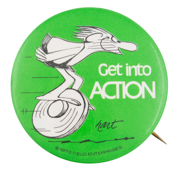 Get Into Action Entertainment Button Museum