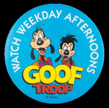 Goof Troop Entertainment Button Museum