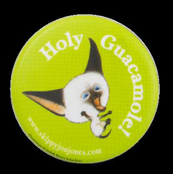 Holy Guacamole Skippy Jon Jones Entertainment Button Museum