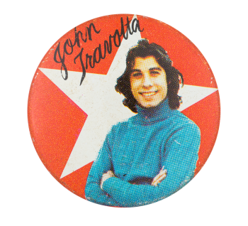 John Travolta Entertainment Button Museum