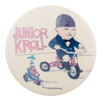 Junior Kroll Entertainment Button Museum