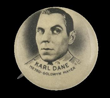 Karl Dane Entertainment Button Museum